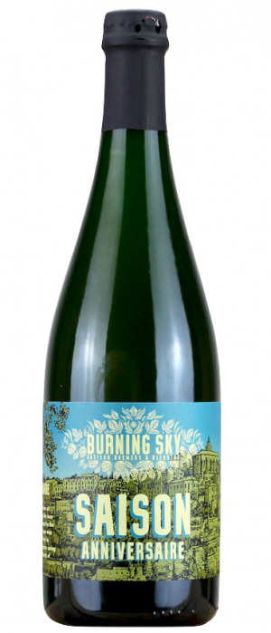 Saison Anniversaire by Burning Sky Brewery in East Sussex - England, United Kingdom