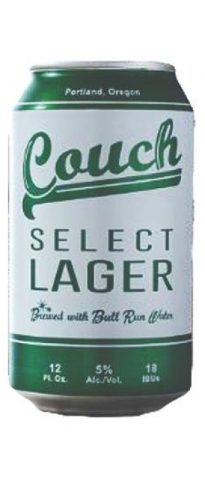 Couch Select Lager by Burnside Brewing Company in Oregon, United States