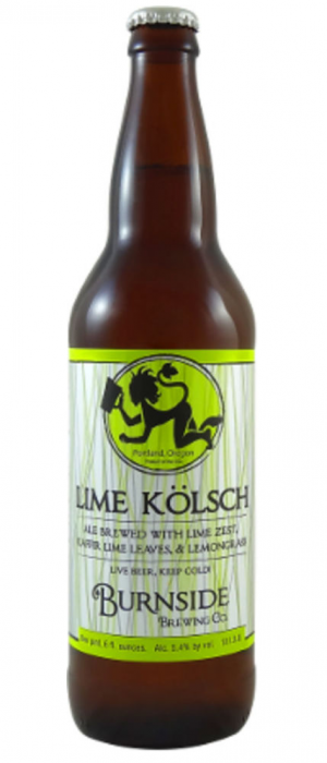 Lime Kölsch by Burnside Brewing Company in Oregon, United States