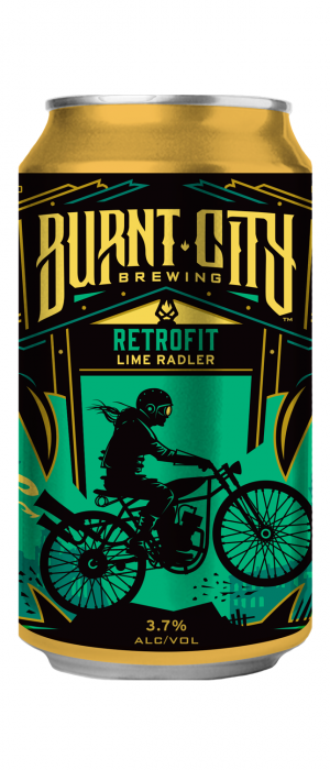 Retrofit Lime Radler by Burnt City Brewing  in Illinois, United States
