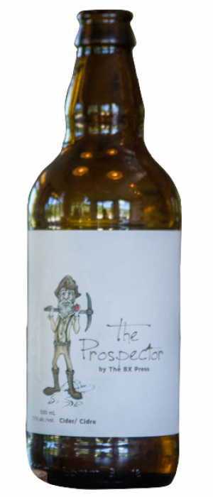 The Prospector by The BX Press Cidery & Orchard in British Columbia, Canada