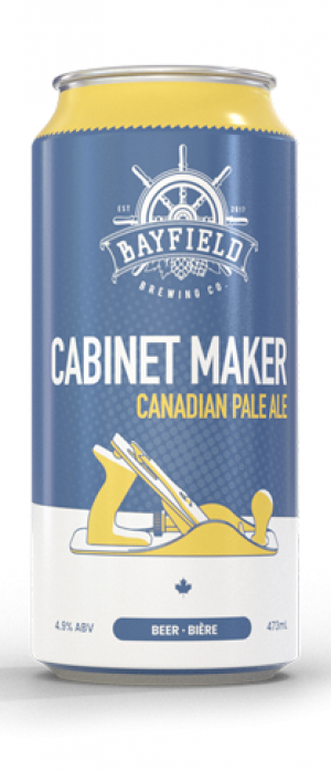 Cabinet Maker by Bayfield Brewing Company in Ontario, Canada