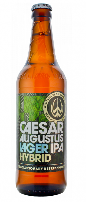 Caesar Augustus Lager IPA Hybrid by Williams Bros. Brewing Co. in Clackmannanshire - Scotland, United Kingdom