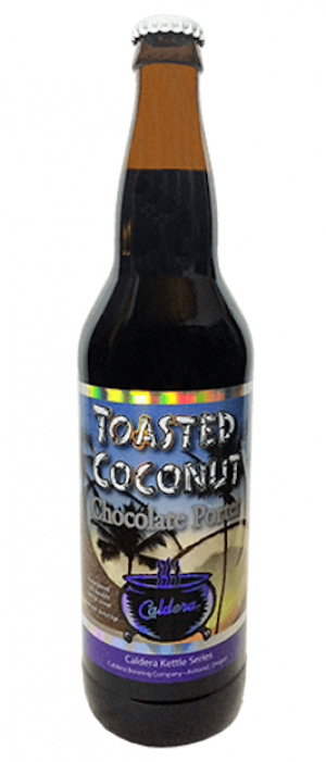 Toasted Coconut Chocolate Porter by Caldera Brewing Company in Oregon, United States