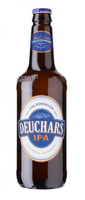 Deuchars IPA by Caledonian Brewery in Edinburgh - Scotland, United Kingdom