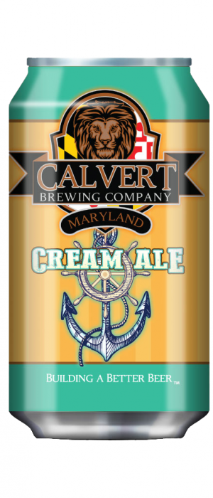 Cream Ale by Calvert Brewing Company in Maryland, United States