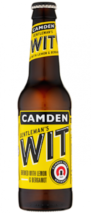 Gentleman's Wit by Camden Town Brewery in London - England, United Kingdom