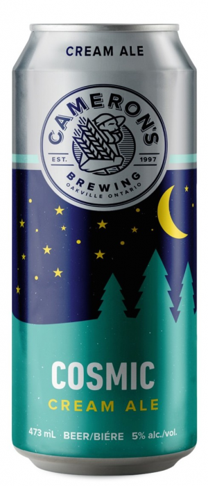 Cosmic Cream Ale by Cameron's Brewing Company in Ontario, Canada