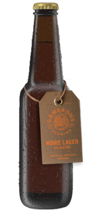 Lager Noire by Cameron's Brewing Company in Ontario, Canada