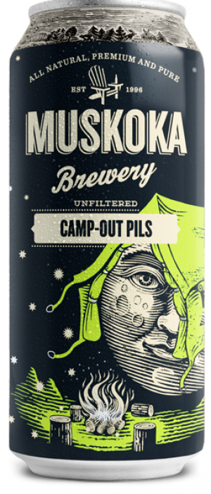 Camp-Out Pils by Muskoka Brewery in Ontario, Canada