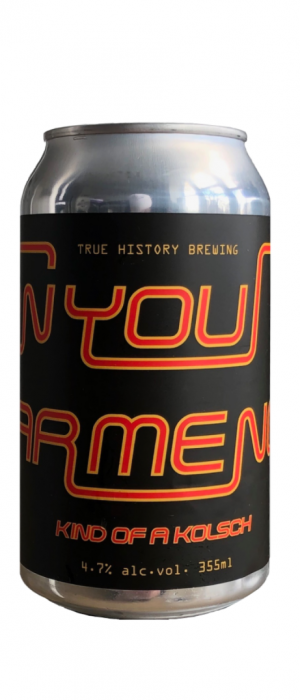 Can You Hear Me Now? by True History Brewing in Ontario, Canada