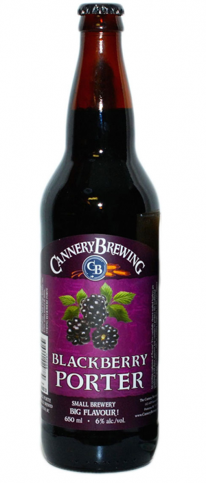 Blackberry Porter by Cannery Brewing in British Columbia, Canada