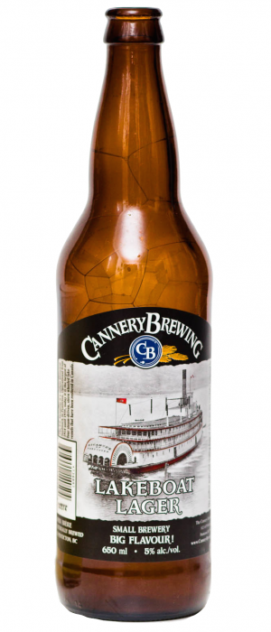 Lakeboat Lager by Cannery Brewing in British Columbia, Canada