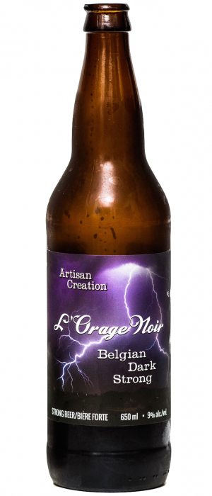 L'Orage Noir by Cannery Brewing in British Columbia, Canada