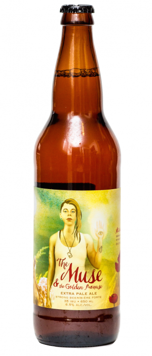The Muse & The Golden Promise by Cannery Brewing in British Columbia, Canada