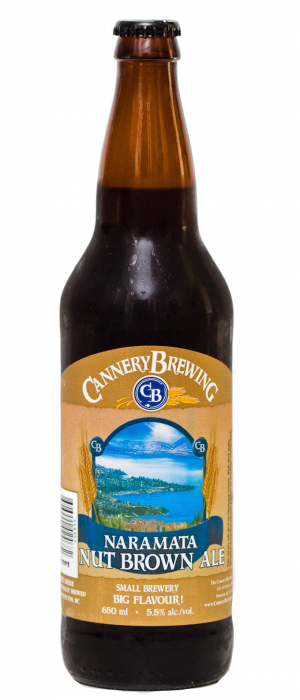 Naramata Nut Brown by Cannery Brewing in British Columbia, Canada