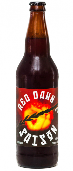 Red Dawn Saison by Cannery Brewing in British Columbia, Canada