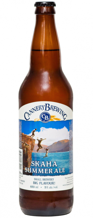 Skaha Summer Ale by Cannery Brewing in British Columbia, Canada