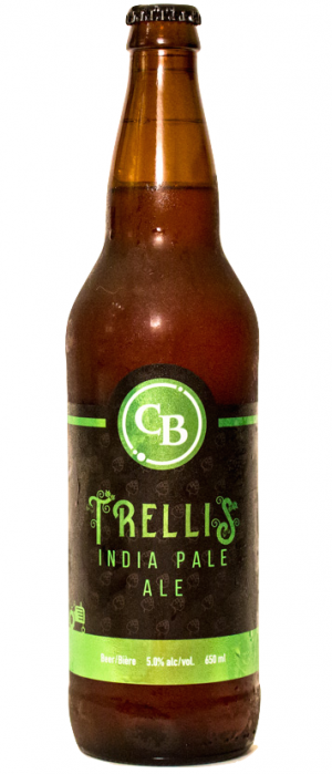 Trellis IPA by Cannery Brewing in British Columbia, Canada