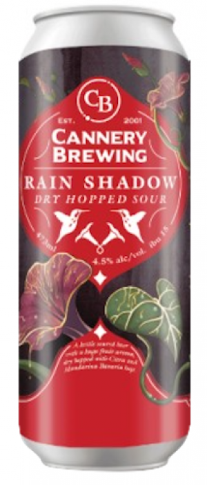 Rain Shadow Sour by Cannery Brewing in British Columbia, Canada