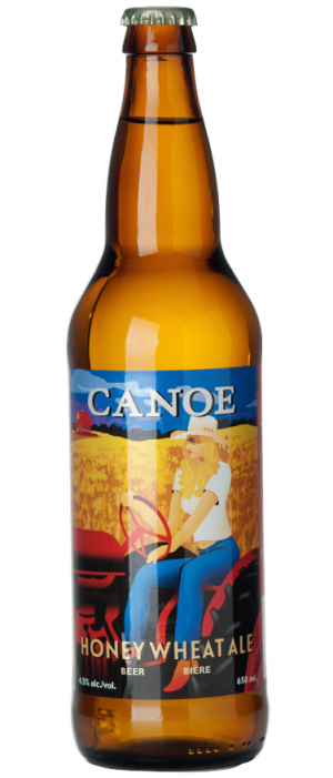 Honey Wheat Ale by Canoe Brewpub in British Columbia, Canada