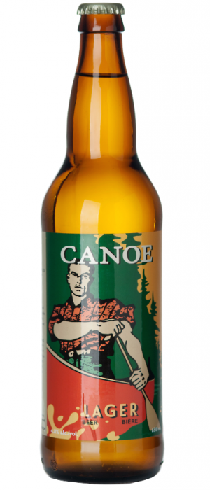 Lager by Canoe Brewpub in British Columbia, Canada