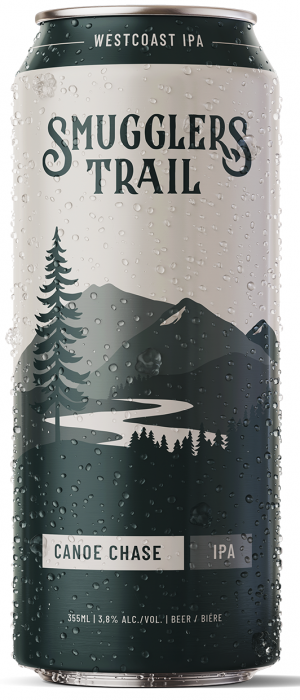 Canoe Chase IPA by Smugglers Trail in British Columbia, Canada