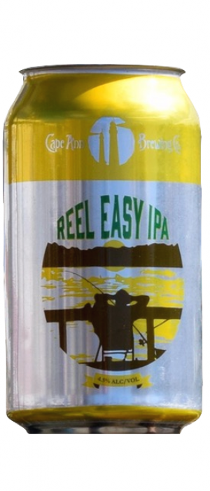 Reel Easy IPA by Cape Ann Brewing Company in Massachusetts, United States