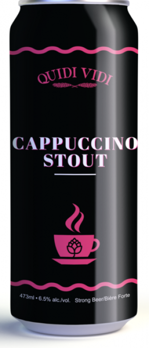 Cappuccino Stout by Quidi Vidi Brewing Company in Newfoundland and Labrador, Canada