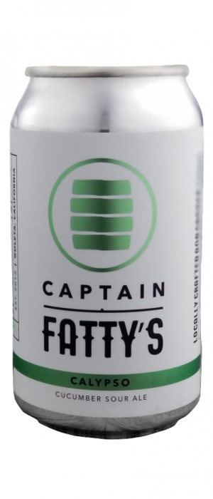 Calypso Cucumber Sour by Captain Fatty's Brewery in California, United States