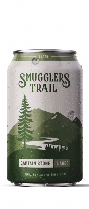 Captain Stone Lager by Smugglers Trail in British Columbia, Canada