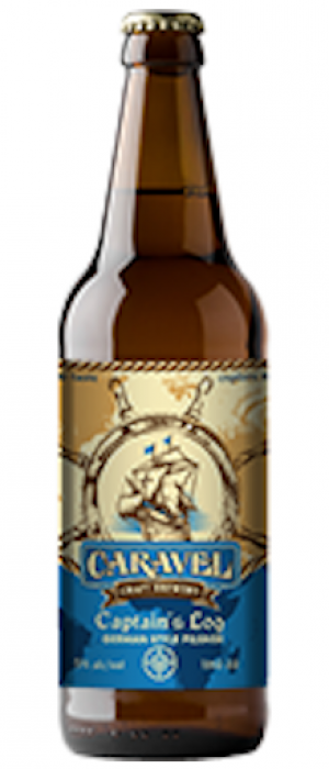 Captain's Log German Style Pilsner by Caravel Craft Brewery in Alberta, Canada