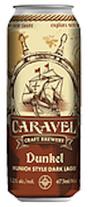 Dunkel Munich Style Dark Lager by Caravel Craft Brewery in Alberta, Canada