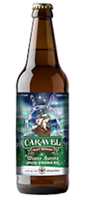 Winter Aurora Spiced Strong Ale by Caravel Craft Brewery in Alberta, Canada