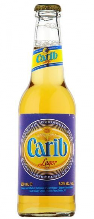 Carib Lager by Carib Brewery in Tunapuna-Piarco, Trinidad and Tobago