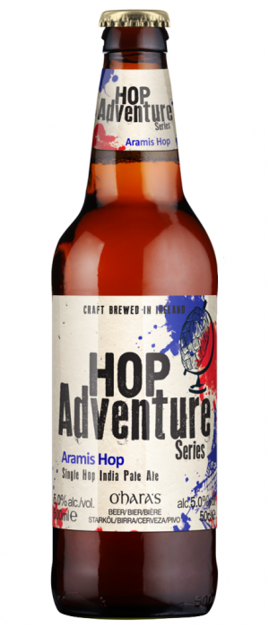 Hop Adventure Aramis Hop by Carlow Brewing Company in Leinster, Ireland