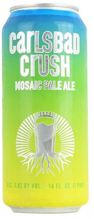 Carlsbad Crush by Burgeon Beer Company in California, United States