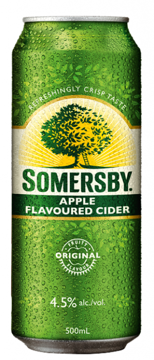 Somersby Apple Cider by Carlsberg Group in Ontario, Canada