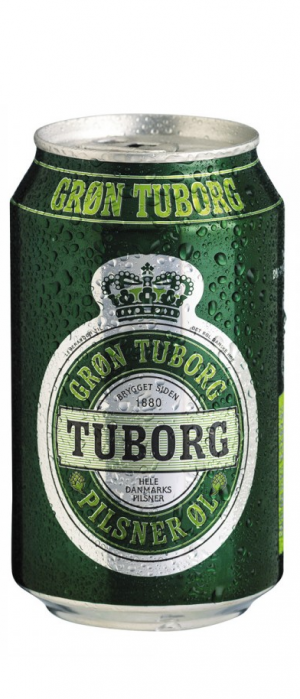 Tuborg Pilsner by Carlsberg Group in Ontario, Canada