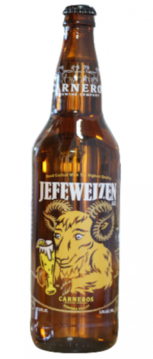 Jefeweizen by Carneros Brewing Company in California, United States