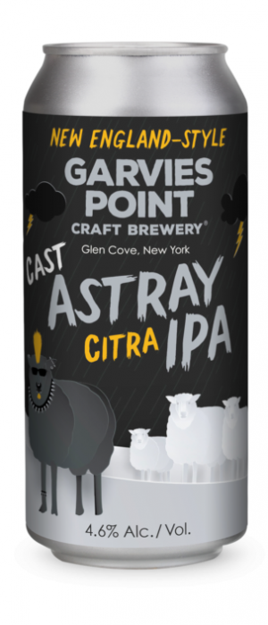 Cast Astray Citra IPA by Garvies Point Brewery in New York, United States
