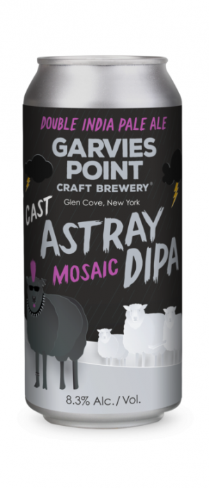 Cast Astray Mosaic DIPA by Garvies Point Brewery in New York, United States