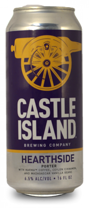 Hearthside by Castle Island Brewing Company in Massachusetts, United States