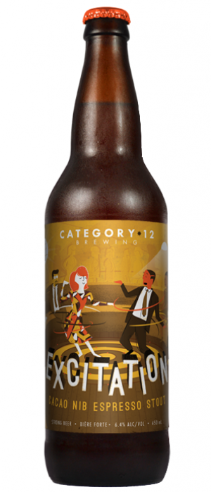 Excitation by Category 12 Brewing in British Columbia, Canada