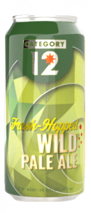 Fresh-Hopped Wild Pale Ale by Category 12 Brewing in British Columbia, Canada