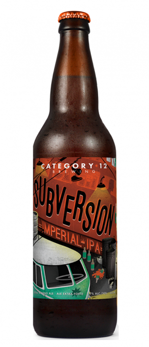 Subversion by Category 12 Brewing in British Columbia, Canada