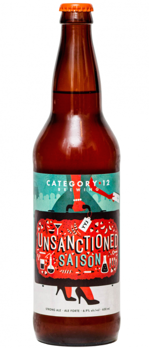 Unsanctioned by Category 12 Brewing in British Columbia, Canada