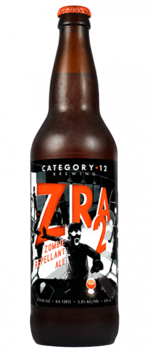 Zombie Repellant Ale 2 by Category 12 Brewing in British Columbia, Canada