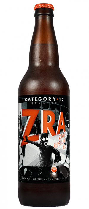 Zombie Repellant Ale by Category 12 Brewing in British Columbia, Canada