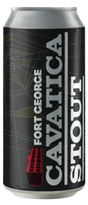 Cavatica Stout by Fort George Brewery in Oregon, United States